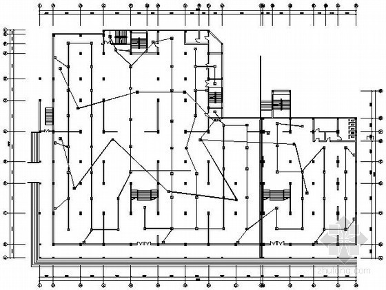两层商住楼火灾自动报警系统施工图纸