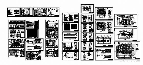 甘肃某燃煤锅炉房水暖电设计图纸