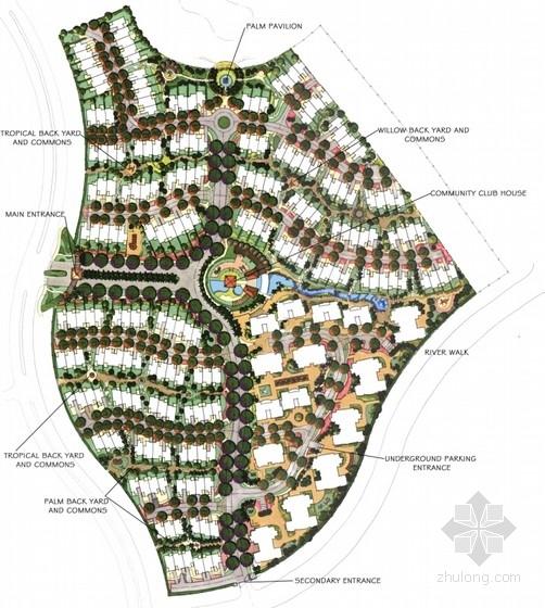[浙江丽水]花园小区景观扩初设计方案