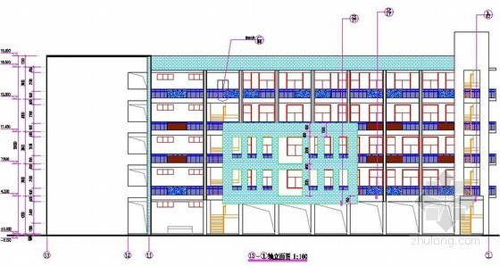 [广州]2009年小学综合楼建安工程清单报价书(全套图纸)