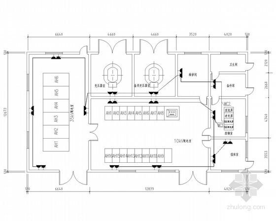 大型厂区变配电工程全套电气施工图纸