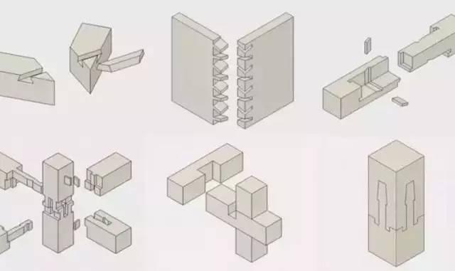 中国的榫卯结构做成了Gif动画