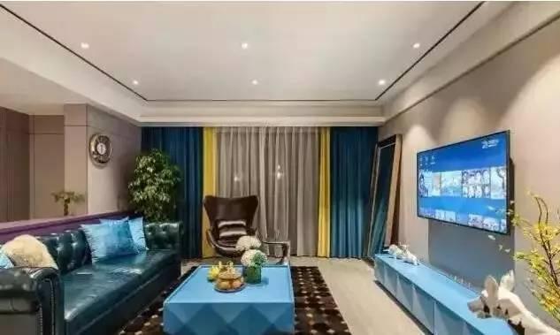 窗帘与家具的色彩搭配_5