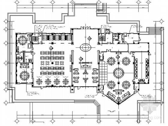 [青岛]现代时尚计算机软件服务会所室内装修施工图