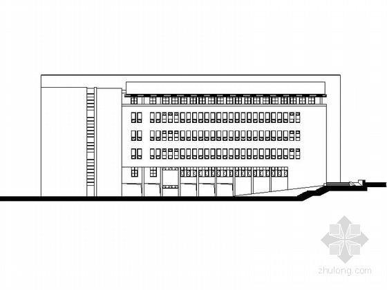 [安徽]五层大学学院楼建筑施工图