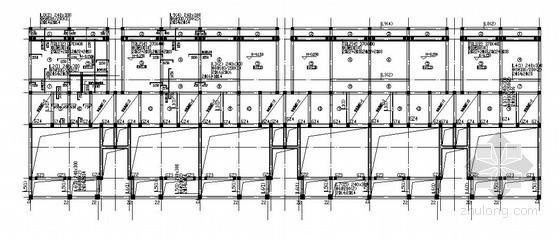 砖混结构别墅结构施工图(四层 条形基础)