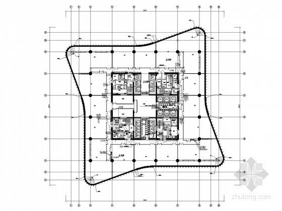 [中原]城市地标建筑给排水图纸(200米以上 办公 商务 餐饮)