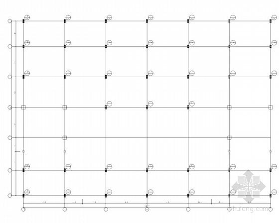 大厦加层钢框架结构施工图