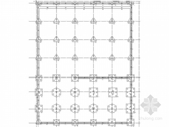 11层框架结构星级酒店结构施工图(长螺旋钻孔灌注桩)