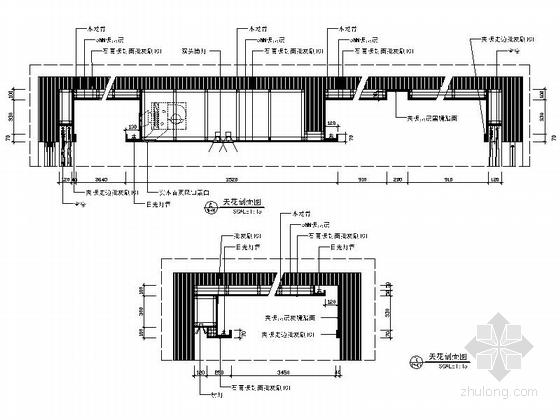 [广西]简欧风格四居室样板房装修图(含效果)大样图