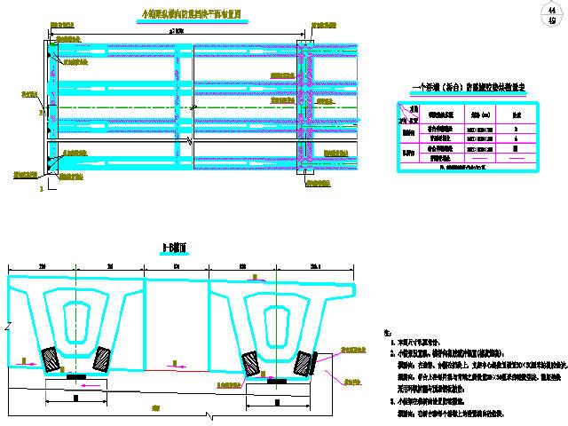 四川30m宽市政道路工程设计图 含交通照明,小箱梁桥,排涝泵站 路