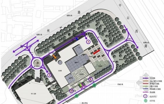 [上海]55米现代古典风格科研中心建筑设计方案文本(含CAD方案图)-55米现代古典风格科研中心建筑分析图