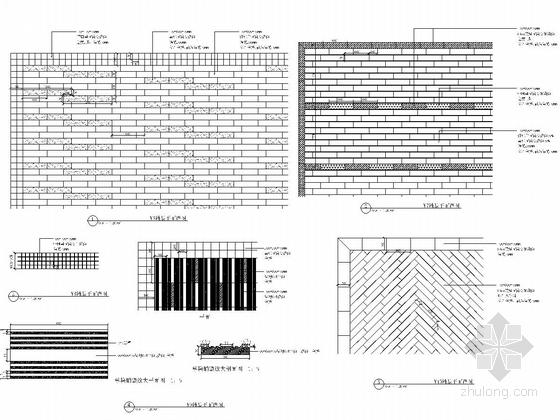 [浙江]细致典雅艺术居住区景观施工图(图纸丰富)-铺装详图