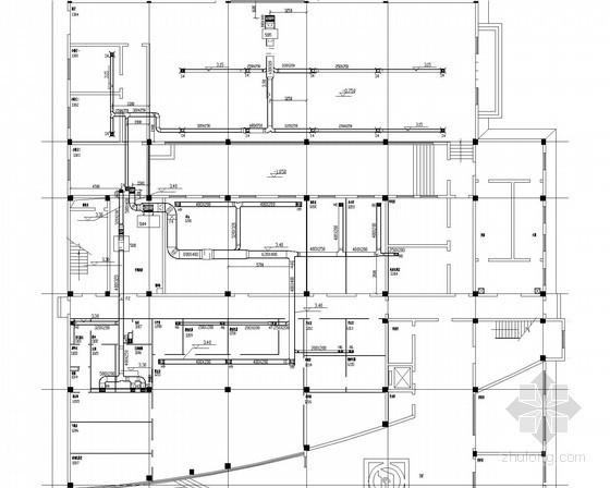 综合楼风冷热泵空调系统设计施工图