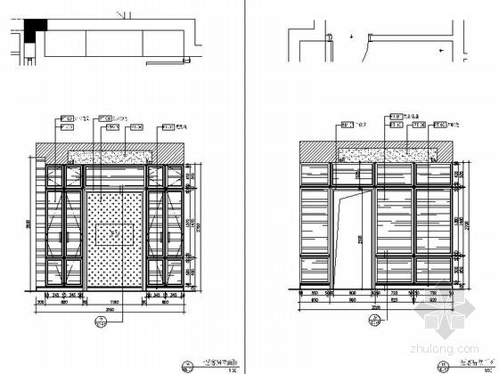 [杭州]220平方古典风格双层别墅室内装修图(含实景) 客房立面