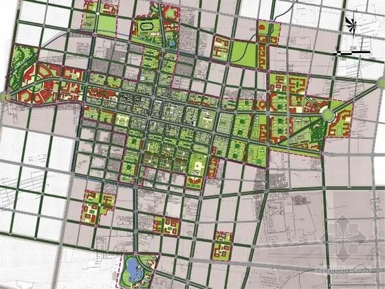 [内蒙古]人文开放活力城市中心景观规划设计方案