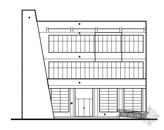 某邮电支局建筑、水、电施工图