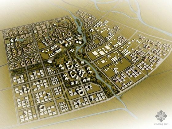 某城市中心区规划投标方案文本(某知名设计院设计)