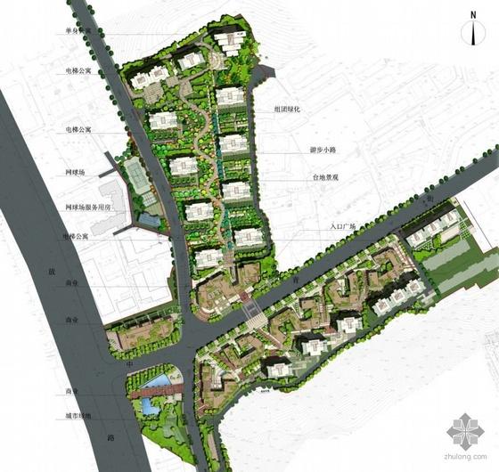 大连国际小区景观规划扩初文本全套