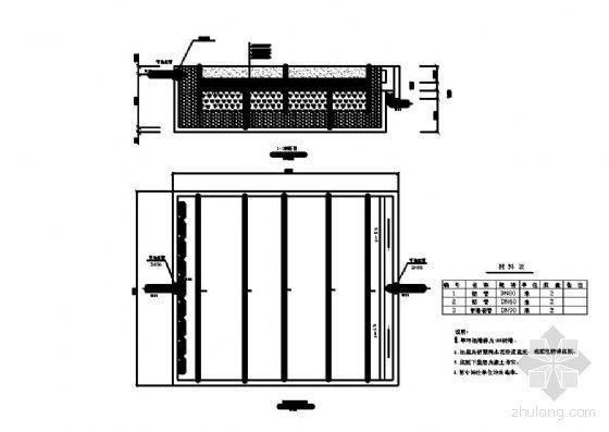 ICEAS工艺课程设计资料下载-某人工湿地工艺图纸(课程设计)