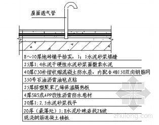 湖南省某综合楼和会所工程防水施工方案