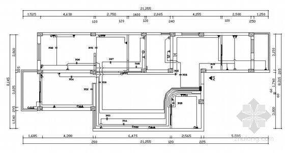 经典家装水电设计施工图-2
