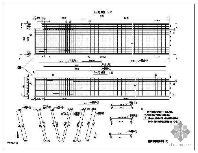 30米预应力混凝土箱梁设计图