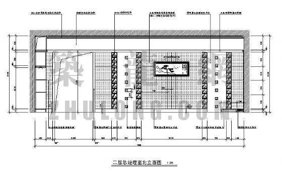 某银行营业厅装修图(二层)-4
