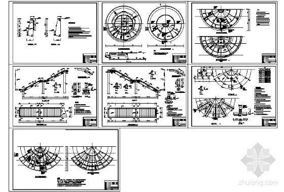 喷泉广场建筑施工详图-2