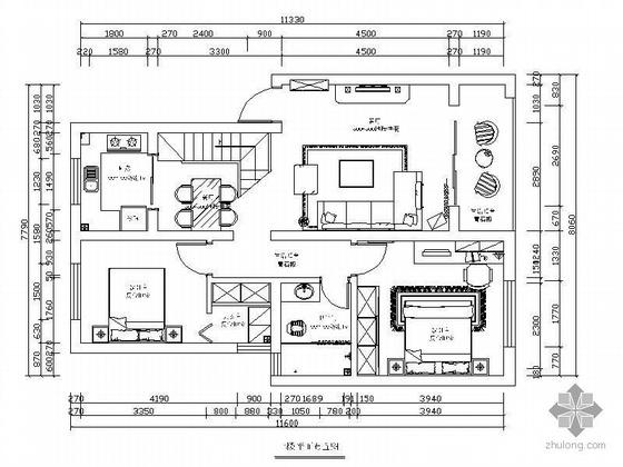 [湖南]某复式楼装修图