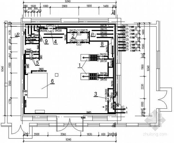 [黑龙江]换热站改造施工图