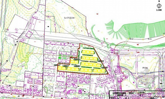 [湖南]2013年棚户区改造工程砖混结构住宅工程量清单实例(CAD图60张)