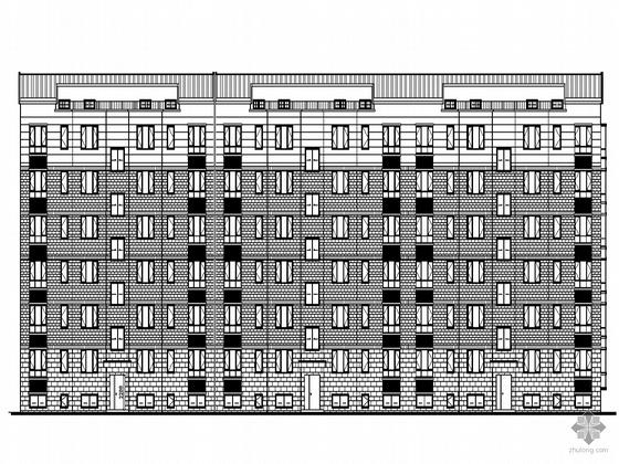[潍坊市]某花园二期高档住宅小区楼群(8栋+售楼处)建筑设计施工套图(配有计算报告书等)
