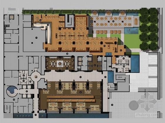 [武汉]特色奢华五星级度假酒店设计概念方案