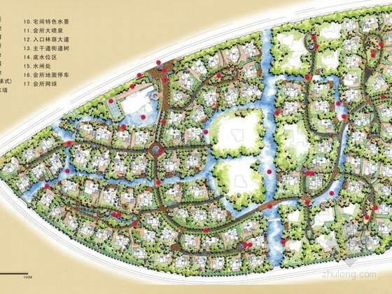 别墅区景观设计方案