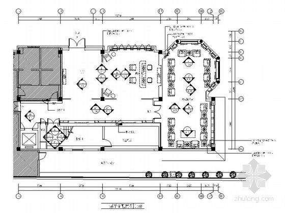 [深圳]时尚前卫精品四星级主题酒店设计施工图(含水电图)