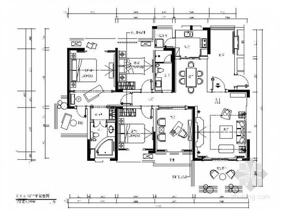 [攀枝花]欧式奢华四居室设计装修图(含效果)