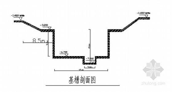 [天津]物流中心深基坑开挖支护施工方案(钢板桩)