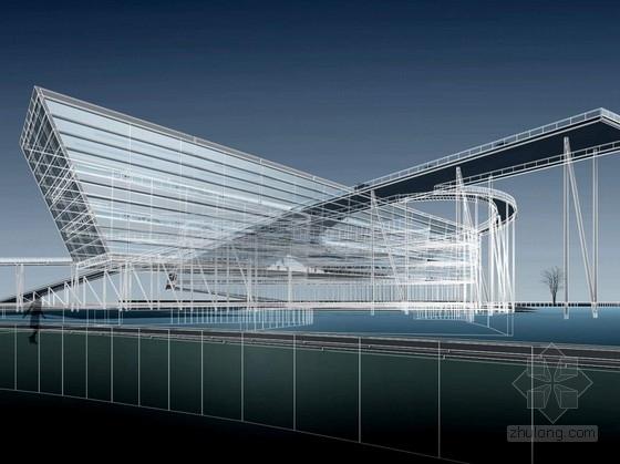 [上海]国际汽车博物馆及会展中心设计方案文本