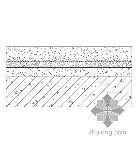 刚性防水混凝土面层屋面(无保温隔热)