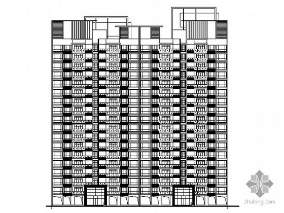 [广东省佛山市]海岸花园二期某十八层住宅楼建筑施工图(含地下室)
