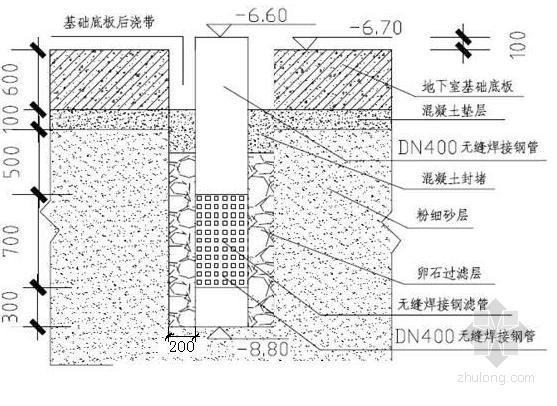 [广东]高层住宅楼深基坑井点降水施工方案