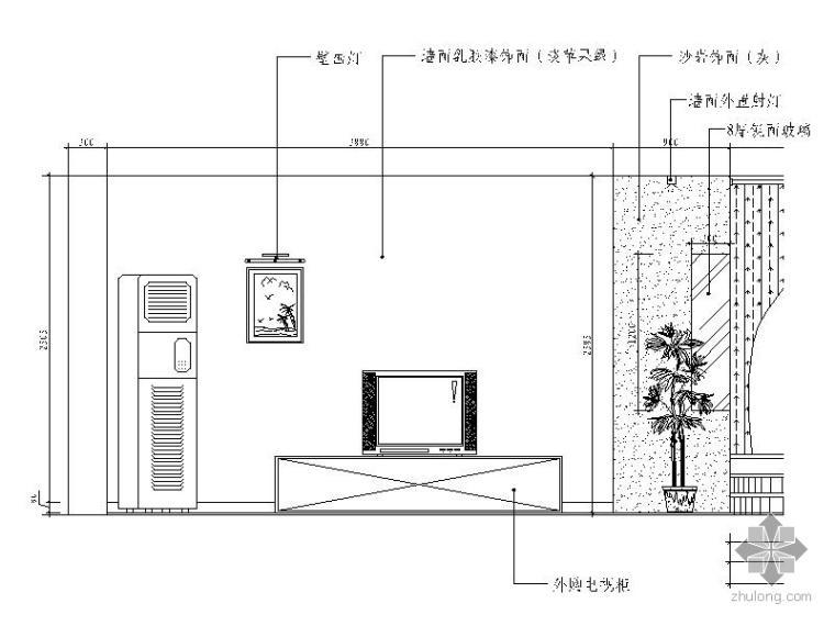 异域二居室装修图_2