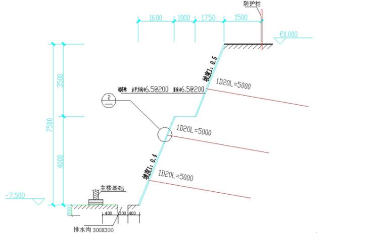 3级放坡土钉墙基坑支护工程安全专项施工方案