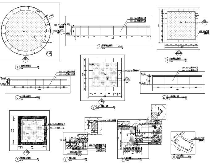 [宁夏]滨湖古典主义高端生态居住区景观设计全套施工图_10