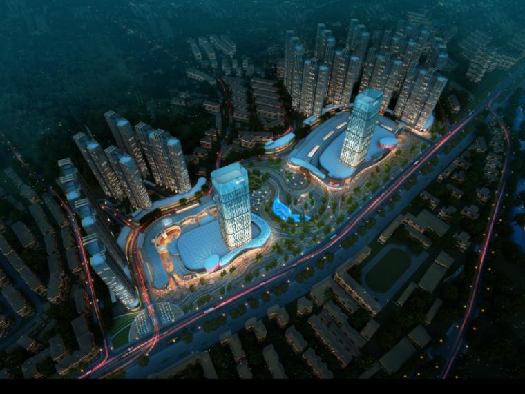 [湖北]超高层娱乐百货商业中心建筑设计方案文本(含CAD)_2