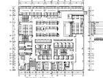 【新疆】线条韵律主题咖啡厅设计施工图(附效果图)