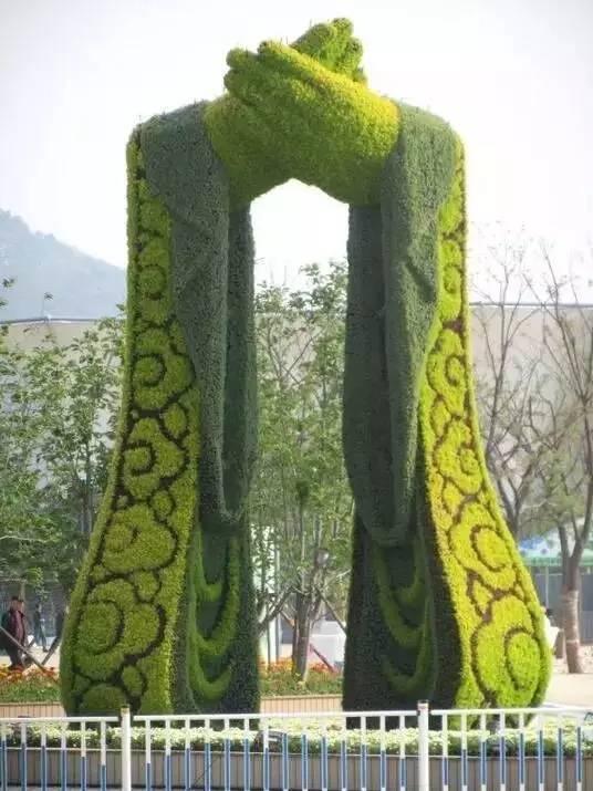 80个极美植物雕塑_29