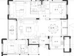 无锡太湖锦园二期T9样板房方案概念及效果图(37页)
