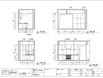 三亚时代海岸C-2蓝色维也纳样板间室内设计施工图
